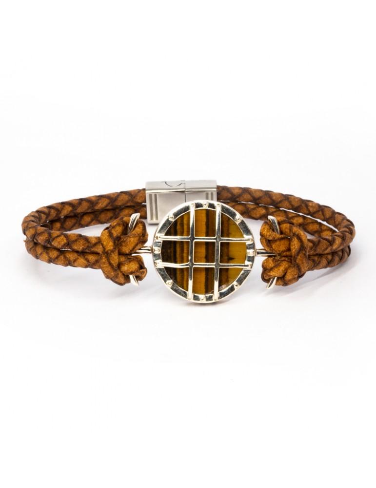 Bracelet Lampe marine Kinacou - Œil de tigre