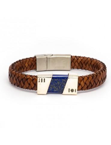 """Bracelet """"Fusion"""" Kinacou - Lapis-Lazuli"""