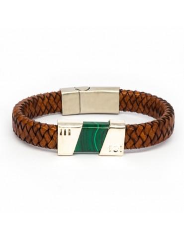 """Bracelet """"Fusion"""" Kinacou - Malachite"""