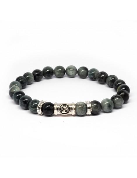 Bracelet Gris Kinacou - Oeil de chat