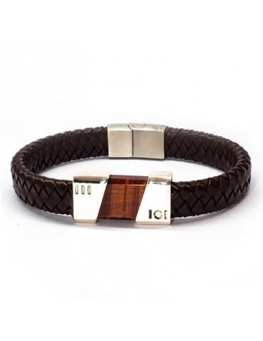 """Bracelet """"Fusion"""" Kinacou - Œil de Taureau"""