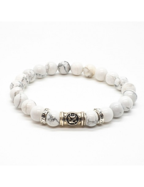 Bracelet Howlite Kinacou